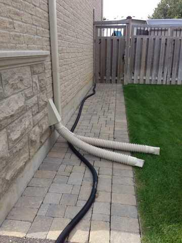 Flooding Discharge Line Solution in Toronto, ON