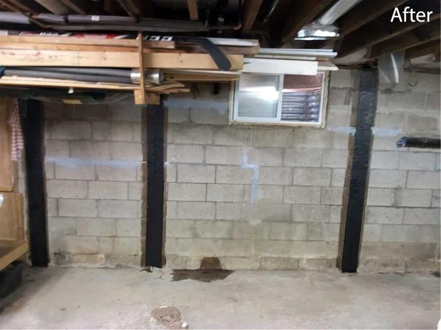 Bowing Foundation Wall Threatens Home in Gooderham, Ontario