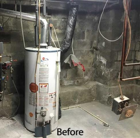 Renovation Work Finds a Basement Leak in Toronto, Ontario