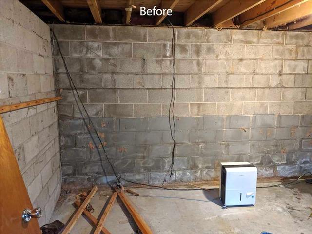Bowing Foundation Walls Threaten Elderly Parents in Thornbury, Ontario