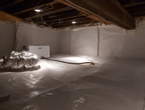 Full Crawl Space Encapsulation in Toronto, Ontario