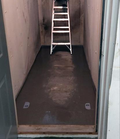Leaking Stairwell Soaks Basement in Uxbridge, Ontario