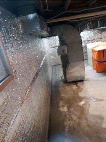Water Seepage Ruins Finished Basement in Oshawa, Ontario