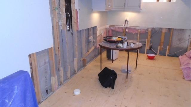 Leaking Front Window Turns Soaks Basement in Cookstown, Ontario