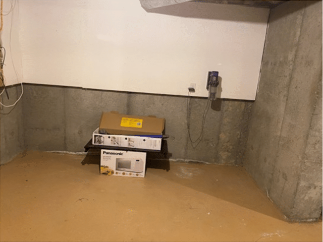 Wet Basement Postpones Renovation in Markham, Ontario