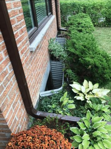 Leaking Window Well Drain Soaks Basement in Toronto, Ontario
