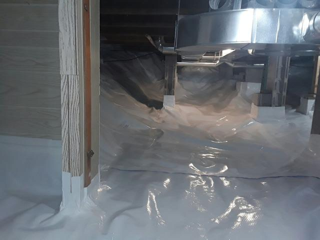 Dirt-Floor Crawl Space Unusable in Dunsford, Ontario