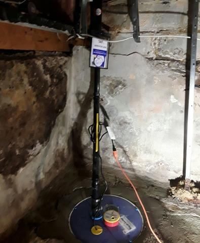 Leaking Corner of Basement Worries Homeowner in Oshawa, Ontario