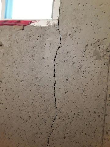 Poorly Repaired Crack Leaks Only a Few Months Later in Stouffville, Ontario