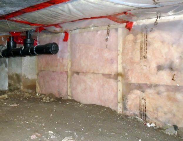 Damp Crawl Space Spends Several Years on the