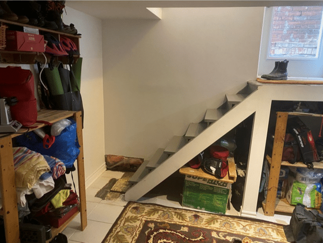 Early 1900s Home Deals with Water Seepage in Toronto, Ontario