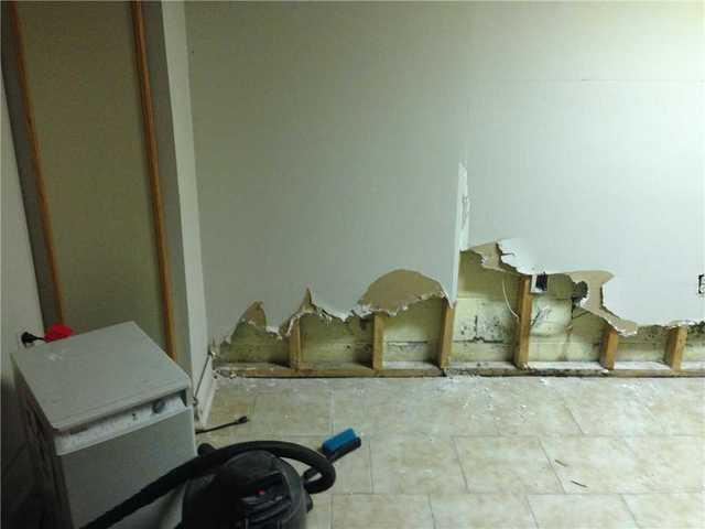 Water and Mold in a Finished Basement in Markham, ON