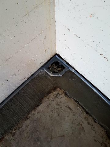 Water Guard- Interior drainage system in Santa Barbara Ca - After Photo