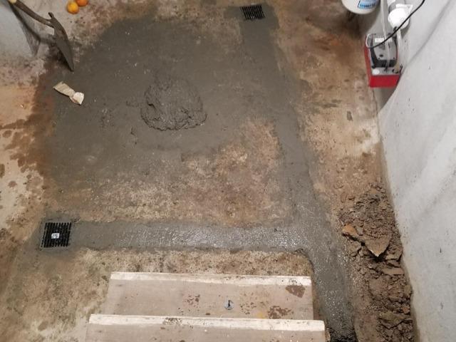 Thermal Dry Flooring in Santa Barbara Ca - Before Photo