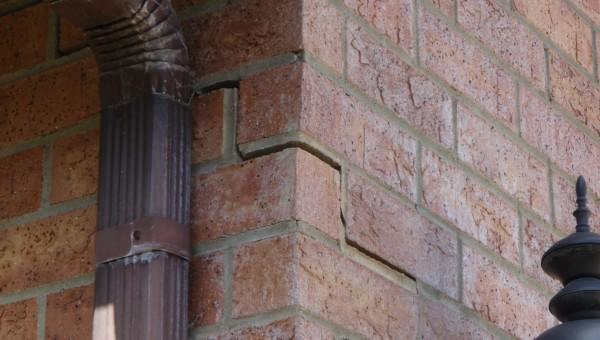 Foundation Issue Cause and Solution - Before Photo