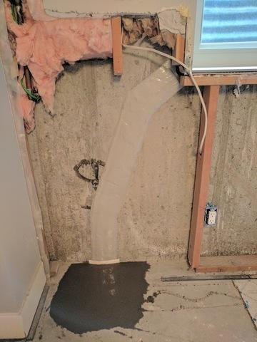 Cracked Foundation and Water Leaking - After Photo