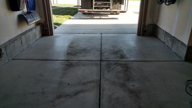 Sunken Garage Floor in Herriman