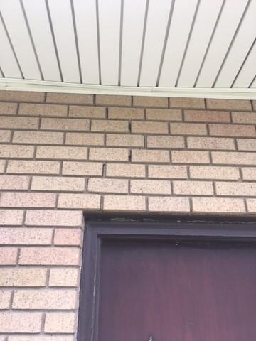 Stairstep Crack in Brick in American Fork, Utah