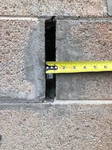 Foundation Stair-Step Crack Repair in Midvale, Utah