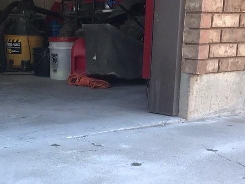 Sunken garage in Manti, Utah - After Photo