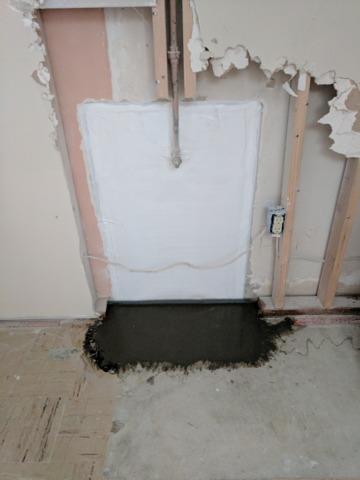 Leak in Kaysville foundation