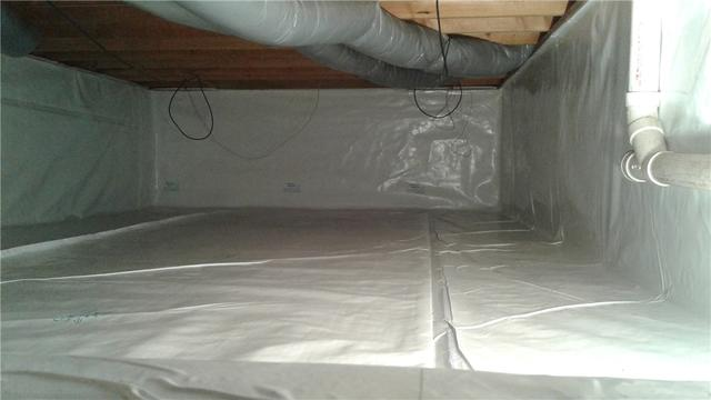 Crawlspace Moisture Stopped in Hummelstown, PA