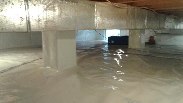 Damp Crawlspace Encapsulated in Elizabethtown, PA