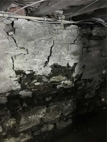 Caving Basement Walls are Corrected in Carbondale, PA