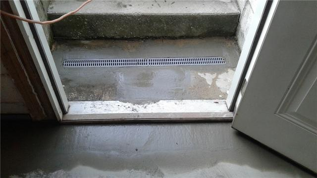 Trench Drain Saves Basement From Serious Flooding in Middletown, PA