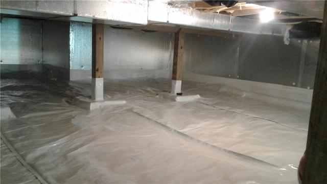 CleanSpace and Dehumidifier Defeat Dampness in Lords Valley, PA