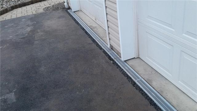 TrenchDrain Saves Garage From Serious Water Issue in Nanticoke, PA
