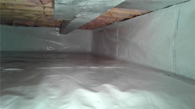 Crawlspace Moisture Issue Solved in Manheim, PA