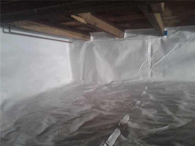 Crawlspace encapsulation in Benton, PA