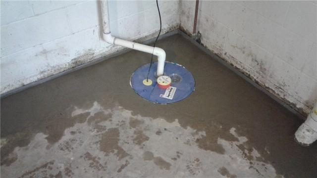 Waterproofing system and sump pump installed in Selinsgrove, PA