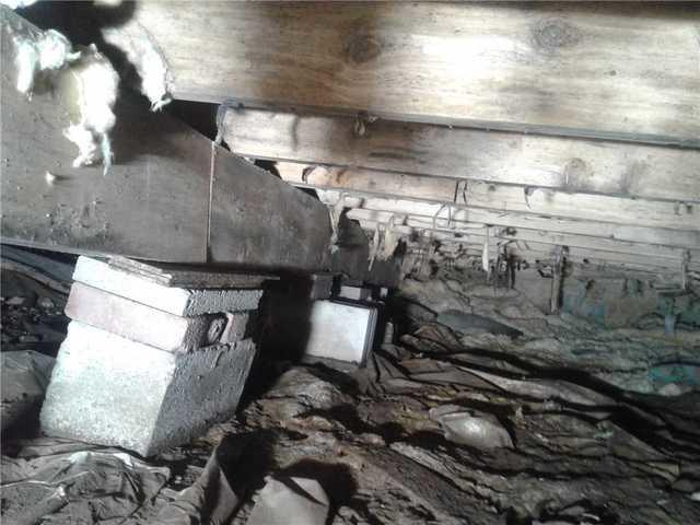 Crawlspace Encapsulation & Sagging Floors Stabilized in Greentown, PA