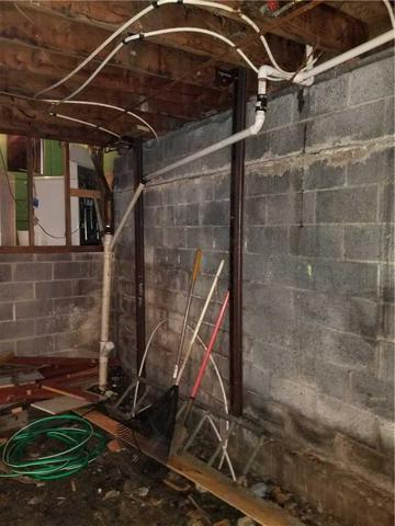 Anchors stabilize walls in Peckville, PA
