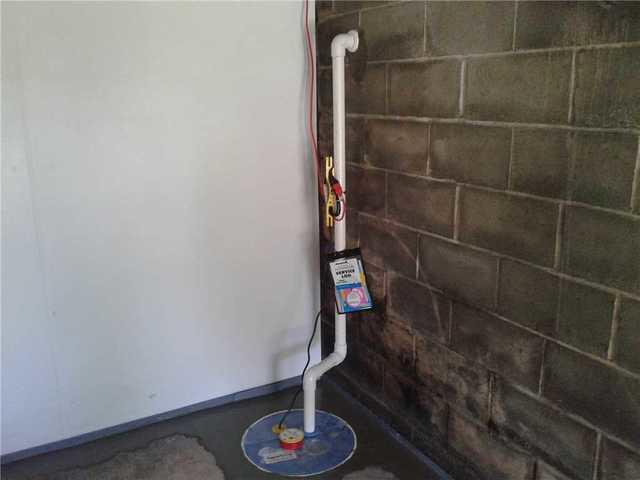 Water problem corrected in garage in Shippensburg, PA