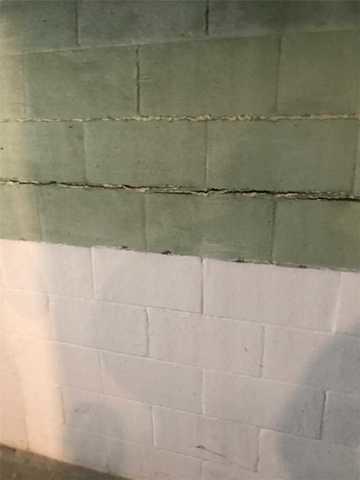 Wall Anchors save wall in Chambersburg, PA