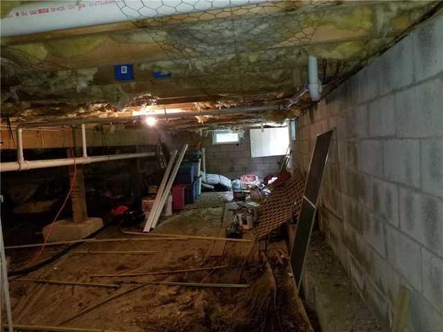 Crawlspace encapsulated in Gouldsboro, PA