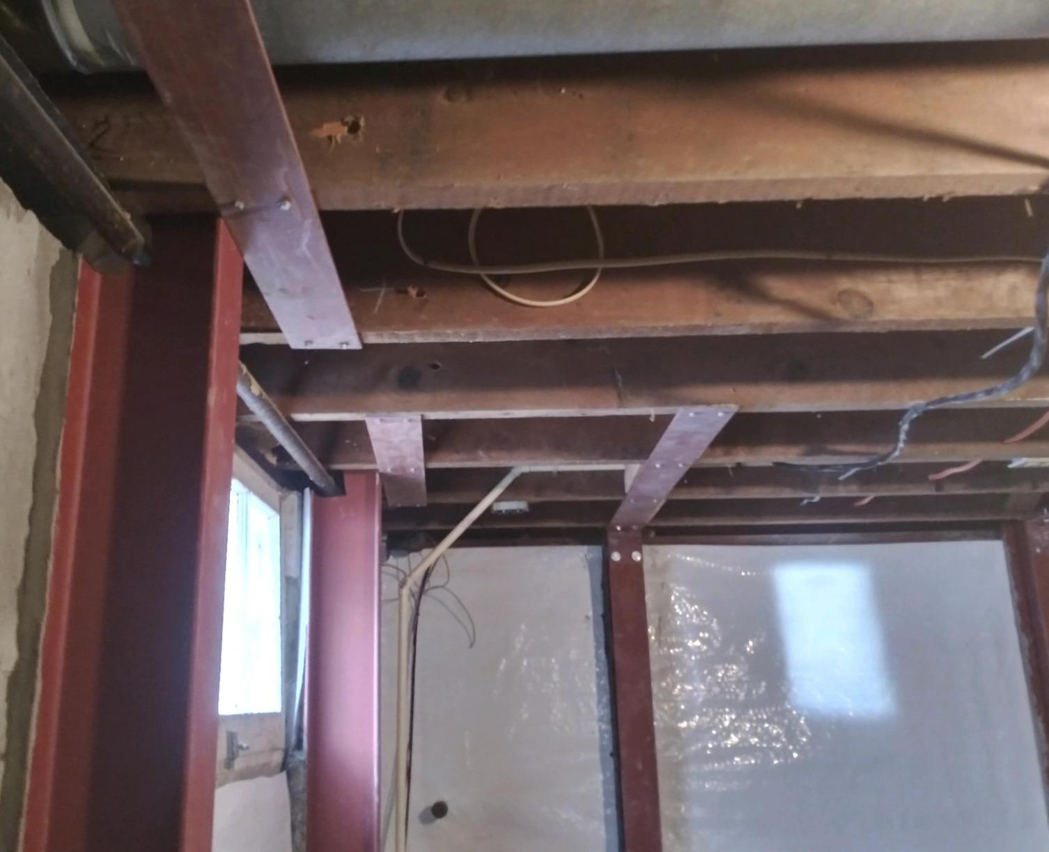 Leaning Wall in Orchard Park, NY - After Photo