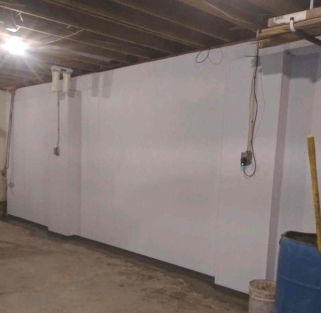 Basement Waterproofing in Eden, NY - After Photo