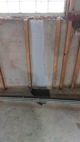 Foundation Wall Crack in Tonawanda, NY