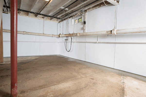 Basement Waterproofing & Air Sealing - After Photo