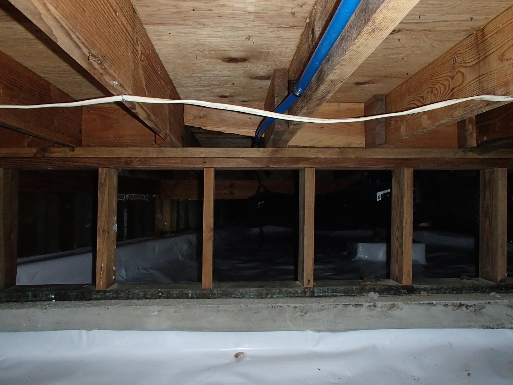 Clinton Crawl Space Encapsulation - After Photo