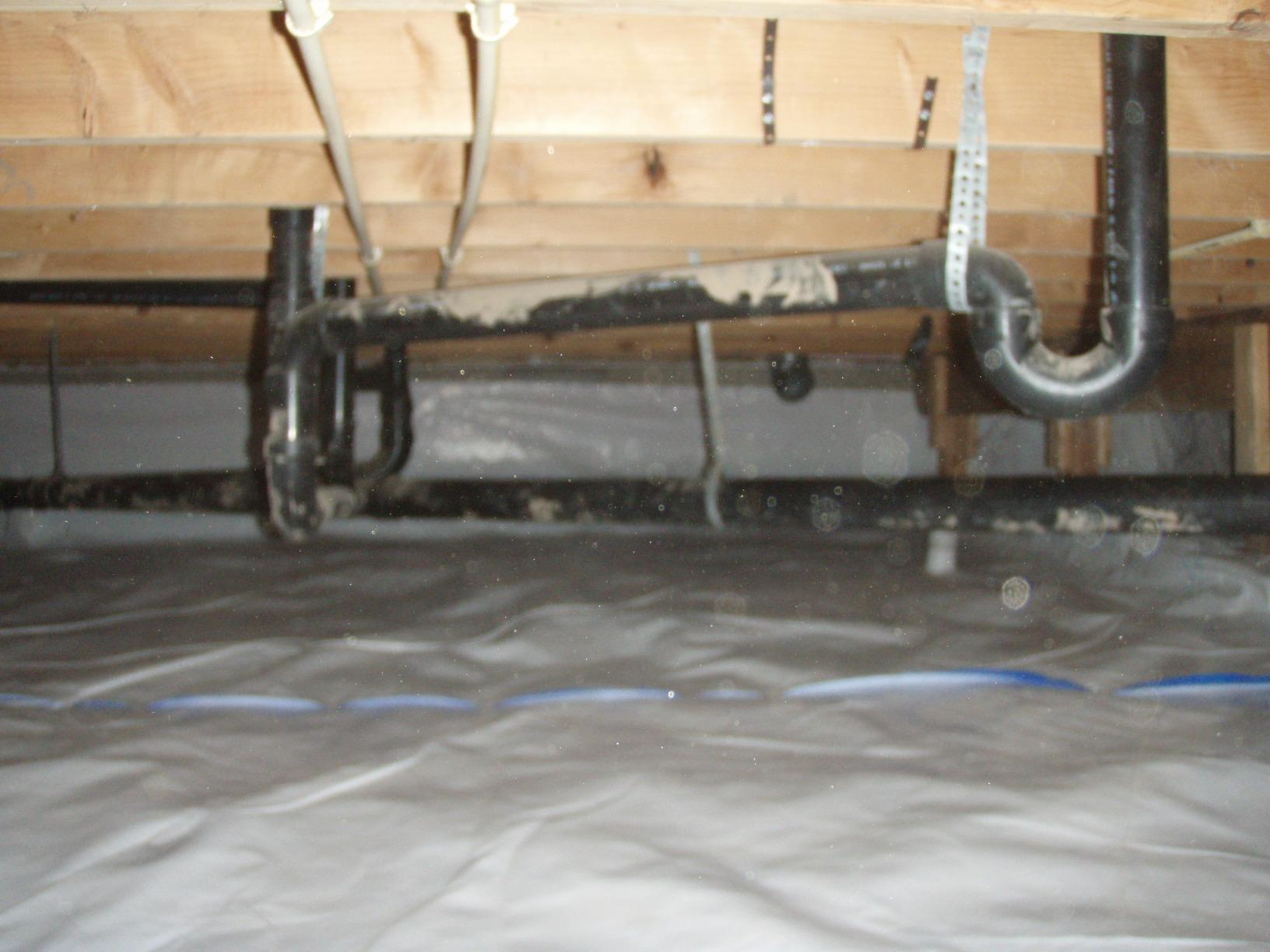 Dirty Crawlspace Transformed with CleanSpace - After Photo