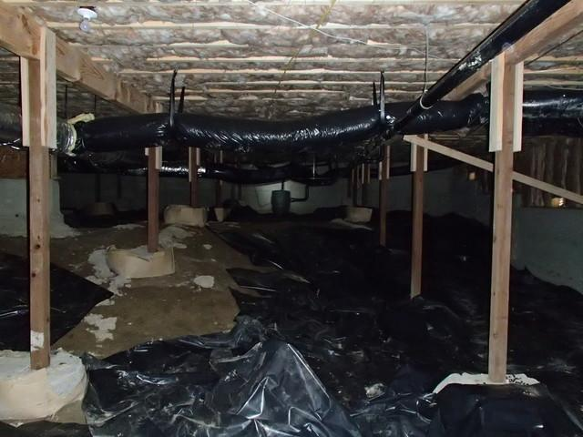 Waterproofing a Bellingham Crawl Space with CleanSpace and Drainage Trenching