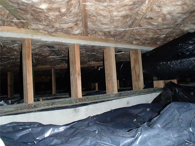 Clinton Crawl Space Encapsulation - Before Photo