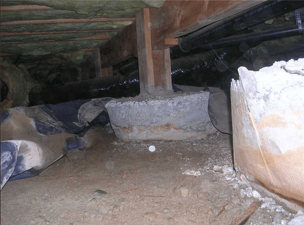 Drainage Installed in Bothell Crawl Space