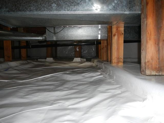 Oak Harbor Crawl Space Transformation