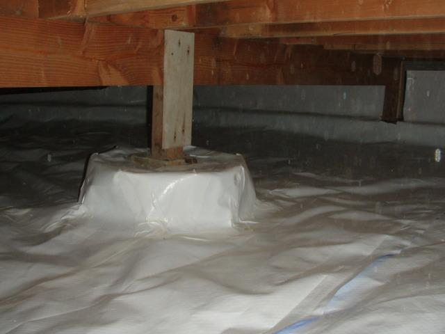 Crawl Space Encapsulation in Anacortes, WA